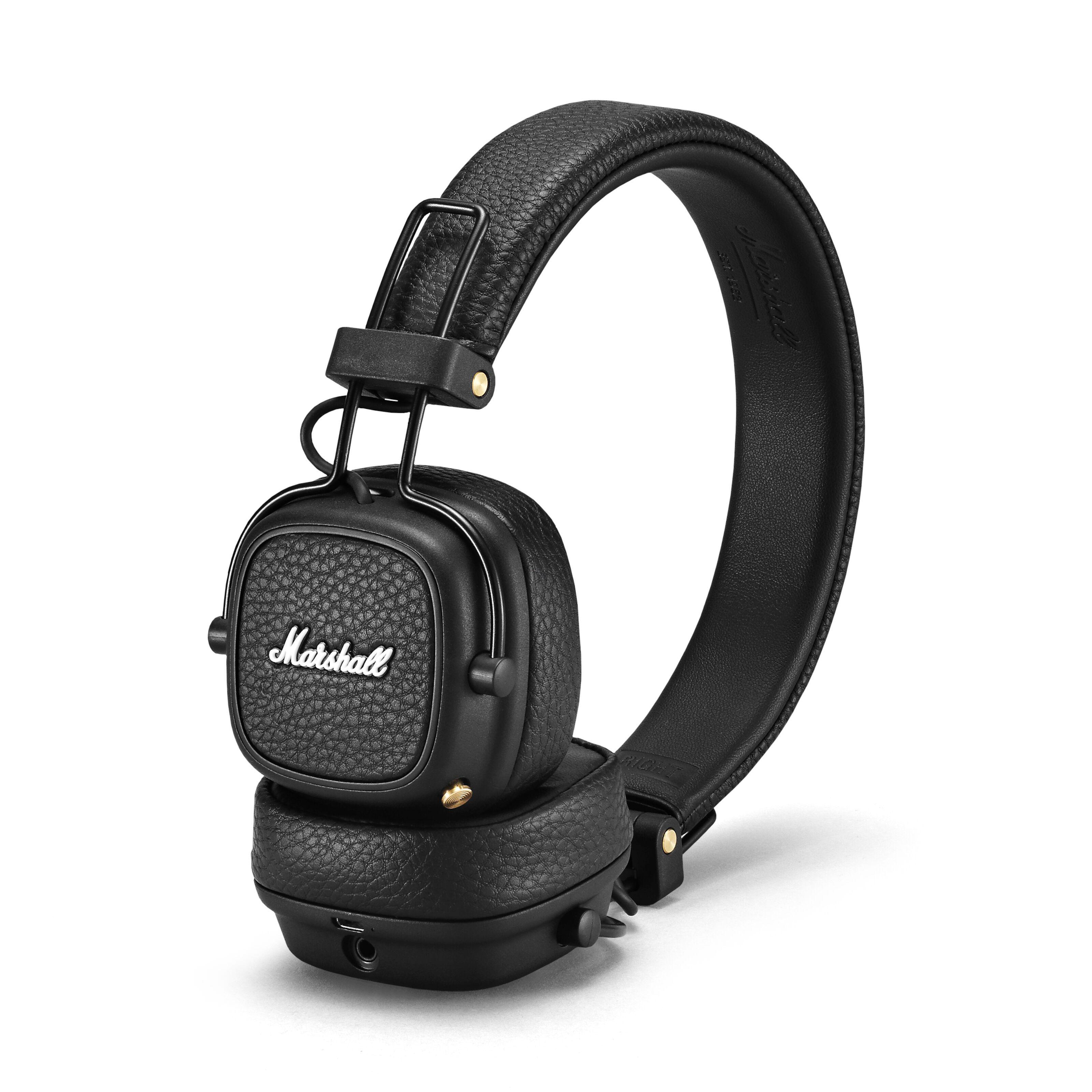 Marshall Major III trådløse on ear hodetelefoner (sort