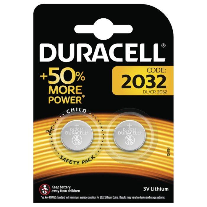 Duracell Litiumbatteri CR2032 2-pack
