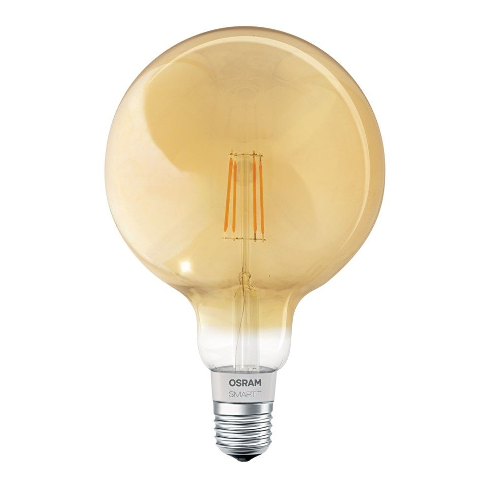 Osram Smart+ Retro Globe Smart LED-filamentlampa E27 600 lm