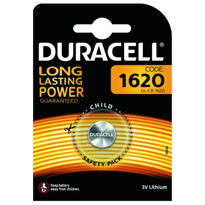 Duracell Litiumbatteri CR1620