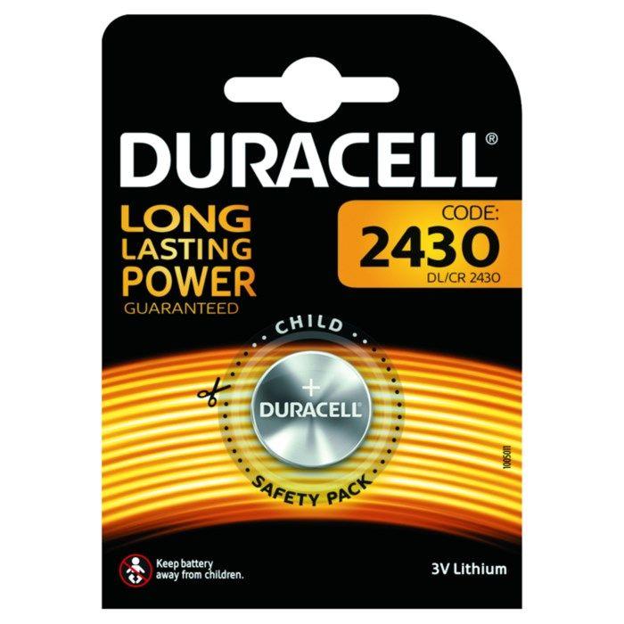 Duracell Litiumbatteri CR2430