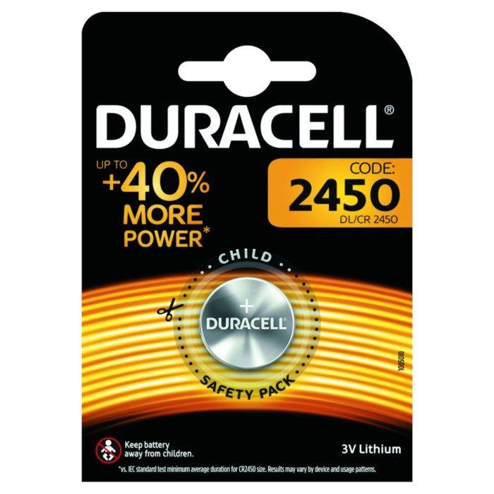 Duracell Litiumbatteri CR2450