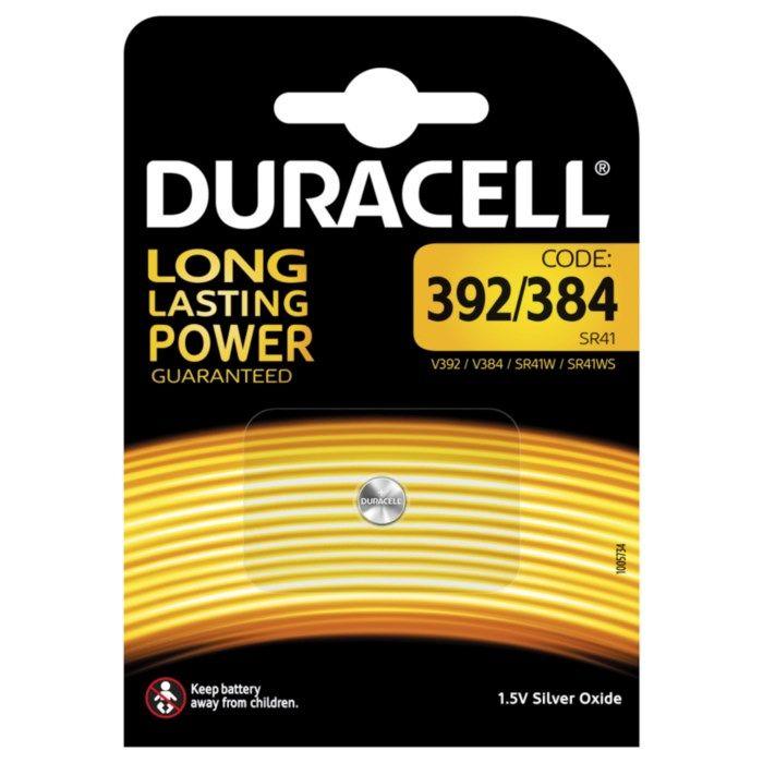 Duracell Knappcellsbatteri SR41 (384)