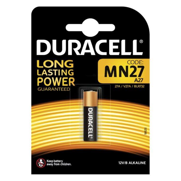 Duracell Alkaliskt 27A-batteri (LR27)