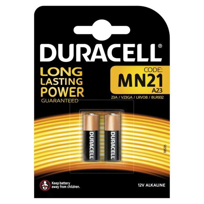 Duracell 23A-batteri 2-pack
