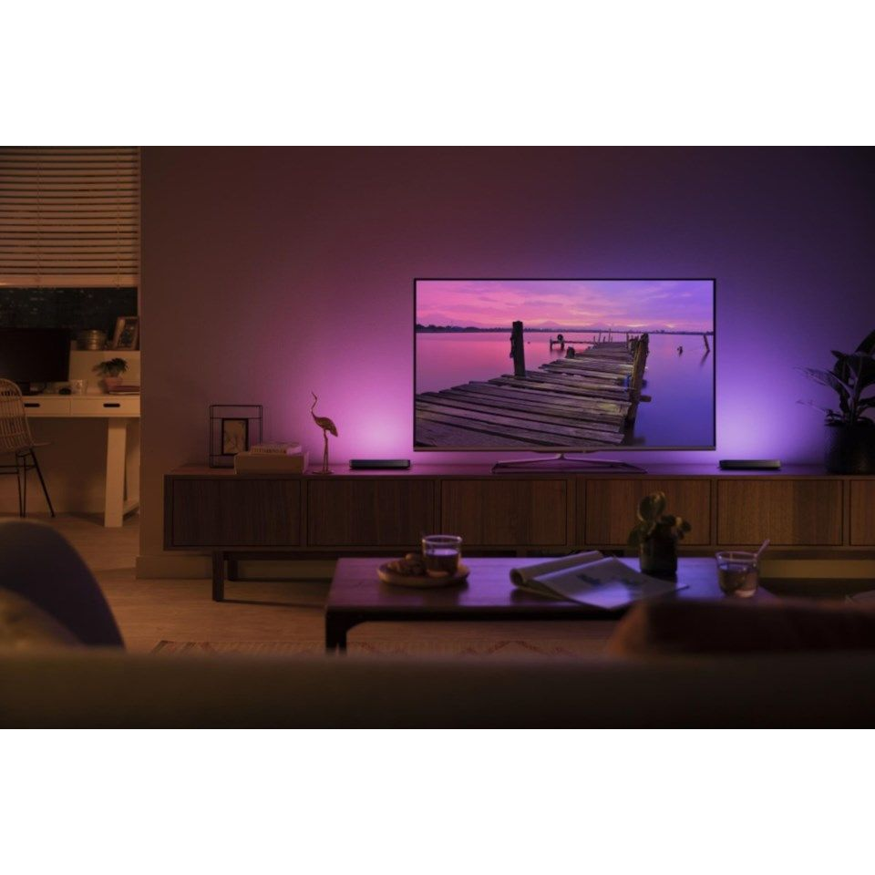 Philips Hue Play Bords- och vägglampa Svart 1-pack
