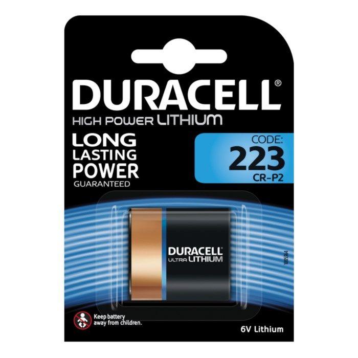 Duracell Ultra 223 Litiumbatteri