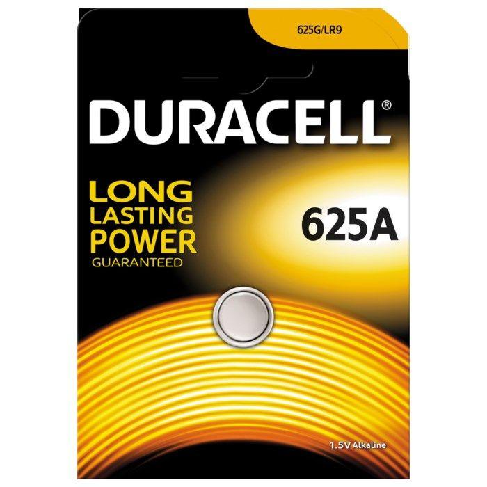 Duracell Knappcellsbatteri 625A (LR-9)