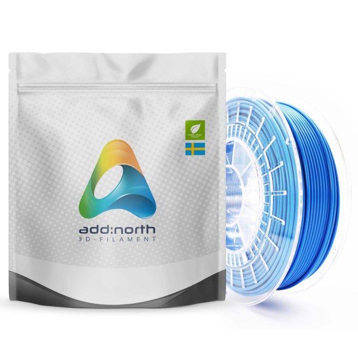 Addnorth PETG-filament för 3D-skrivare 1,75 mm Medium Blue