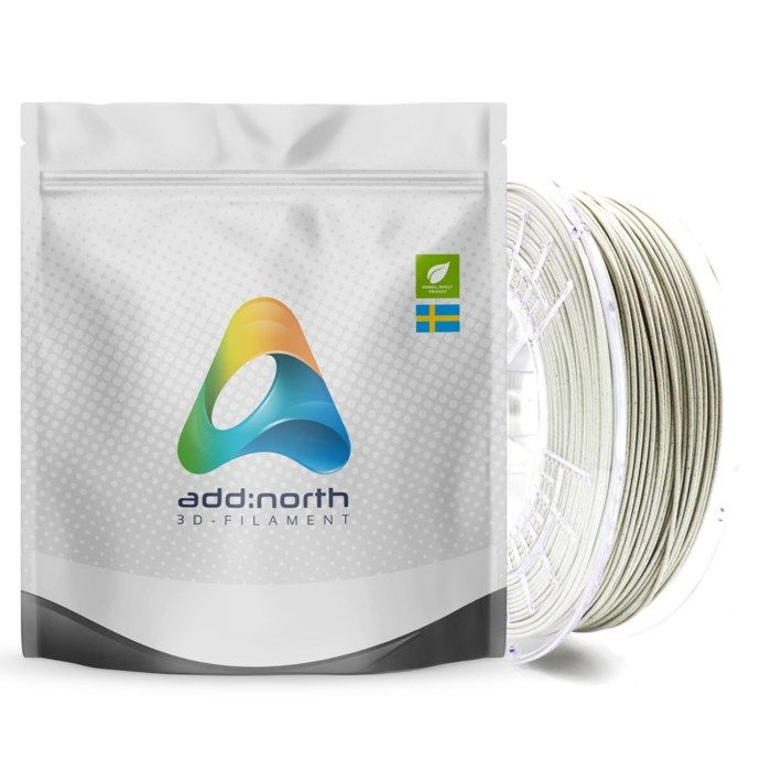 Addnorth E-PLA-filament för 3D-skrivare 1,75 mm Marble