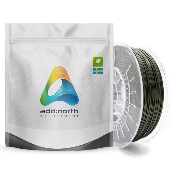Addnorth E-PLA-filament för 3D-skrivare 1,75 mm Glitz Stardust