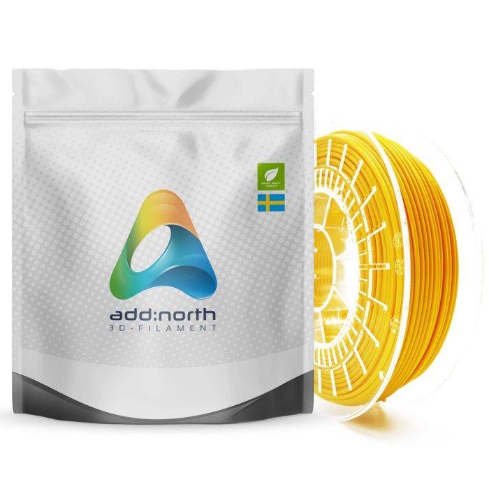 Addnorth E-PLA-filament för 3D-skrivare 1,75 mm Gul