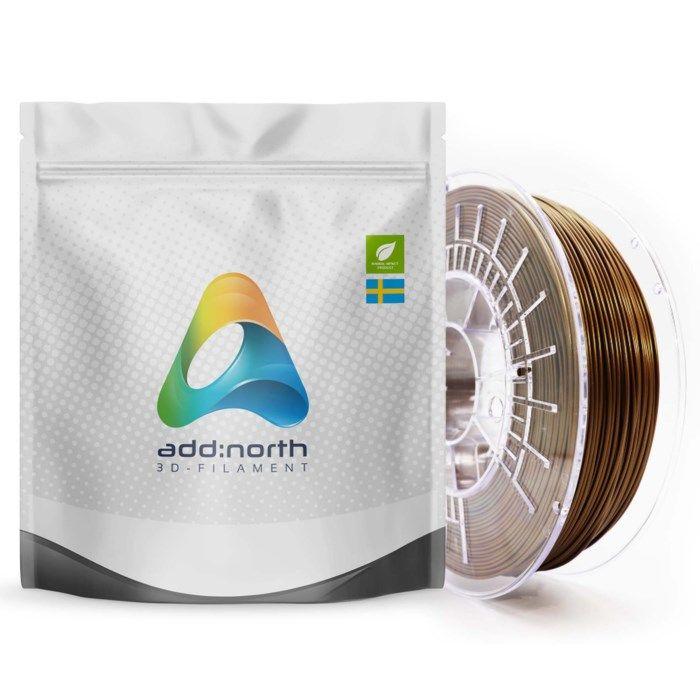 Addnorth E-PLA-filament för 3D-skrivare 1,75 mm Maya Gold