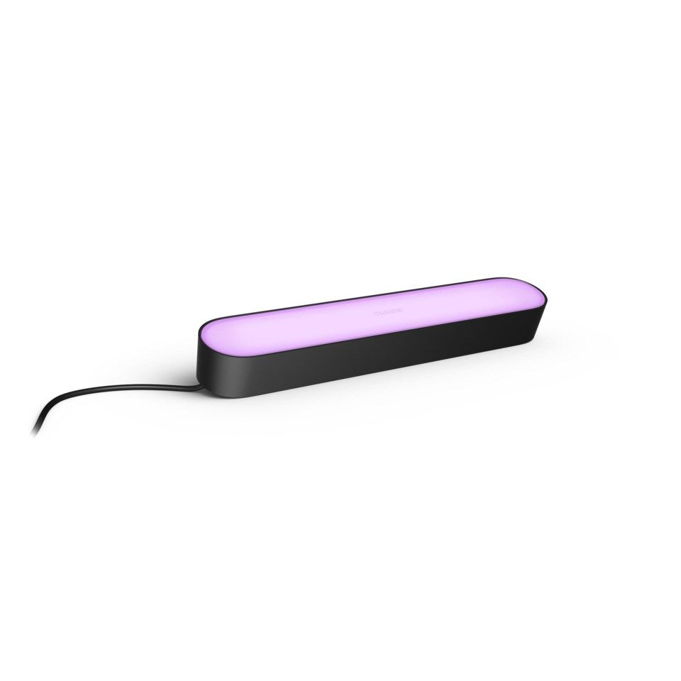 Philips Hue Play Extension Extralampa Svart