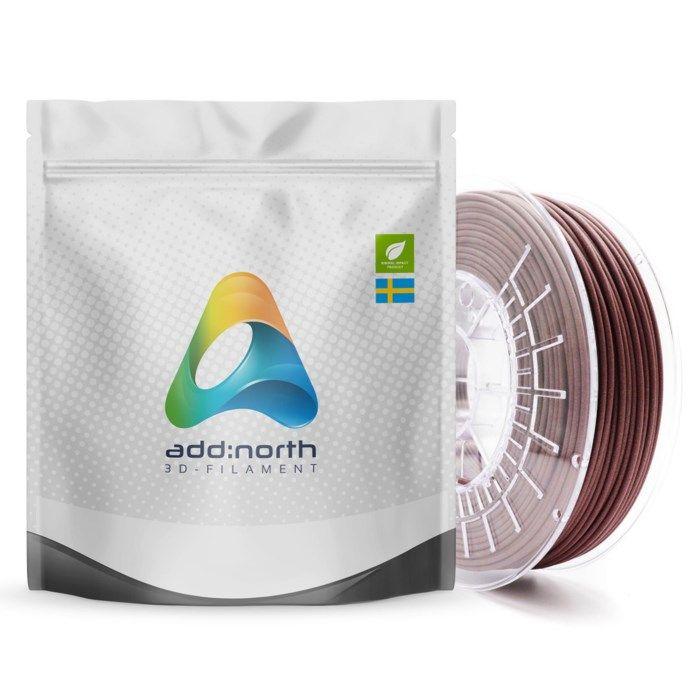 Addnorth Textura Flare filament för 3D-skrivare 1,75 mm Röd