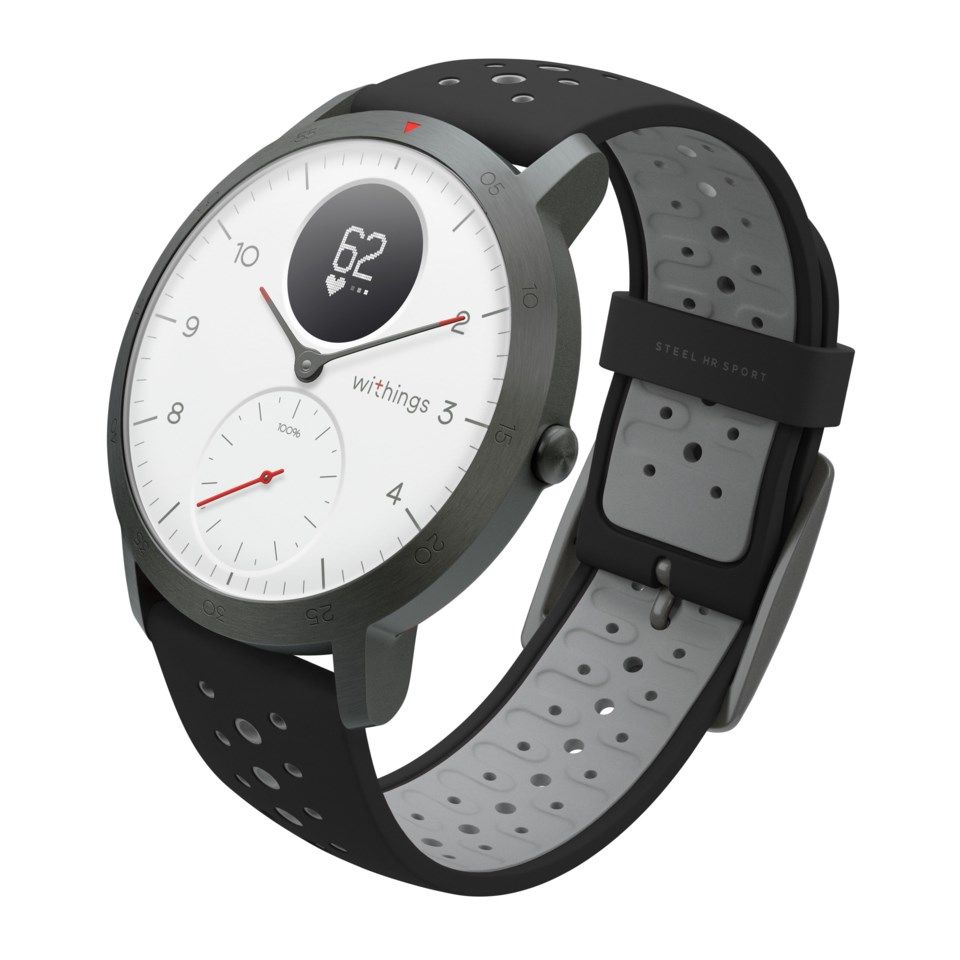 Withings Steel HR Sport Aktivitetsarmband Vit