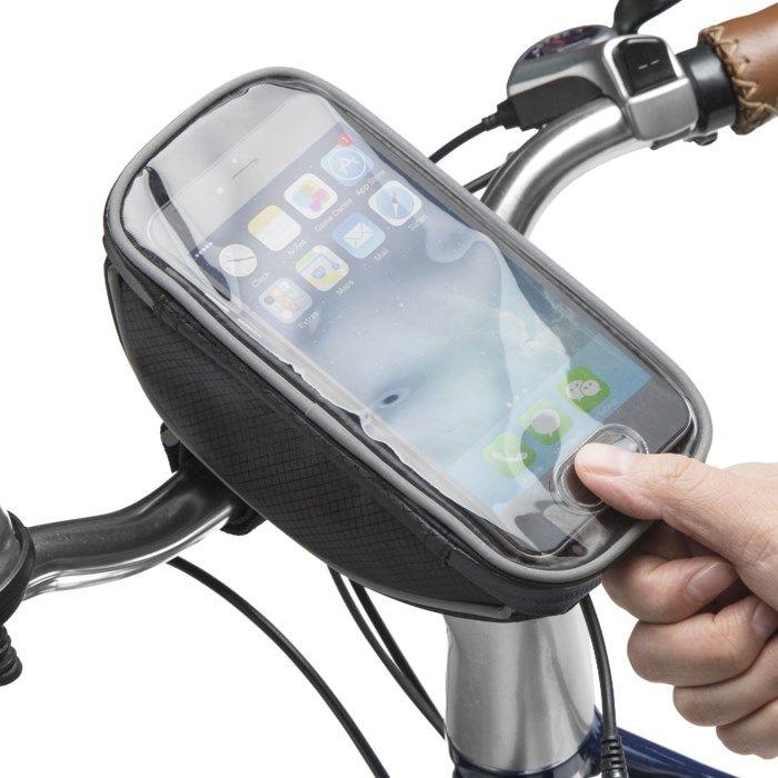 Linocell Cykelväska med telefonficka