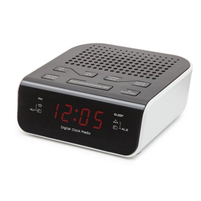Rubicson Väckarklocka med FM-radio
