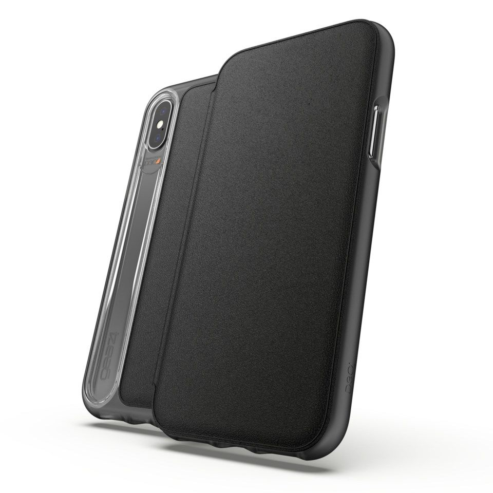 Gear4 Oxford Leather Robust mobiletui for iPhone X og Xs
