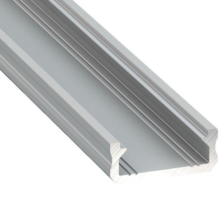 Nextec Aluminiumprofil utanpåliggande för LED-lister