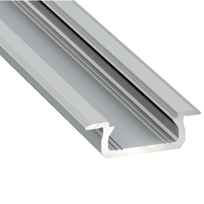 Nextec Aluminiumprofil för LED-lister för infällnad
