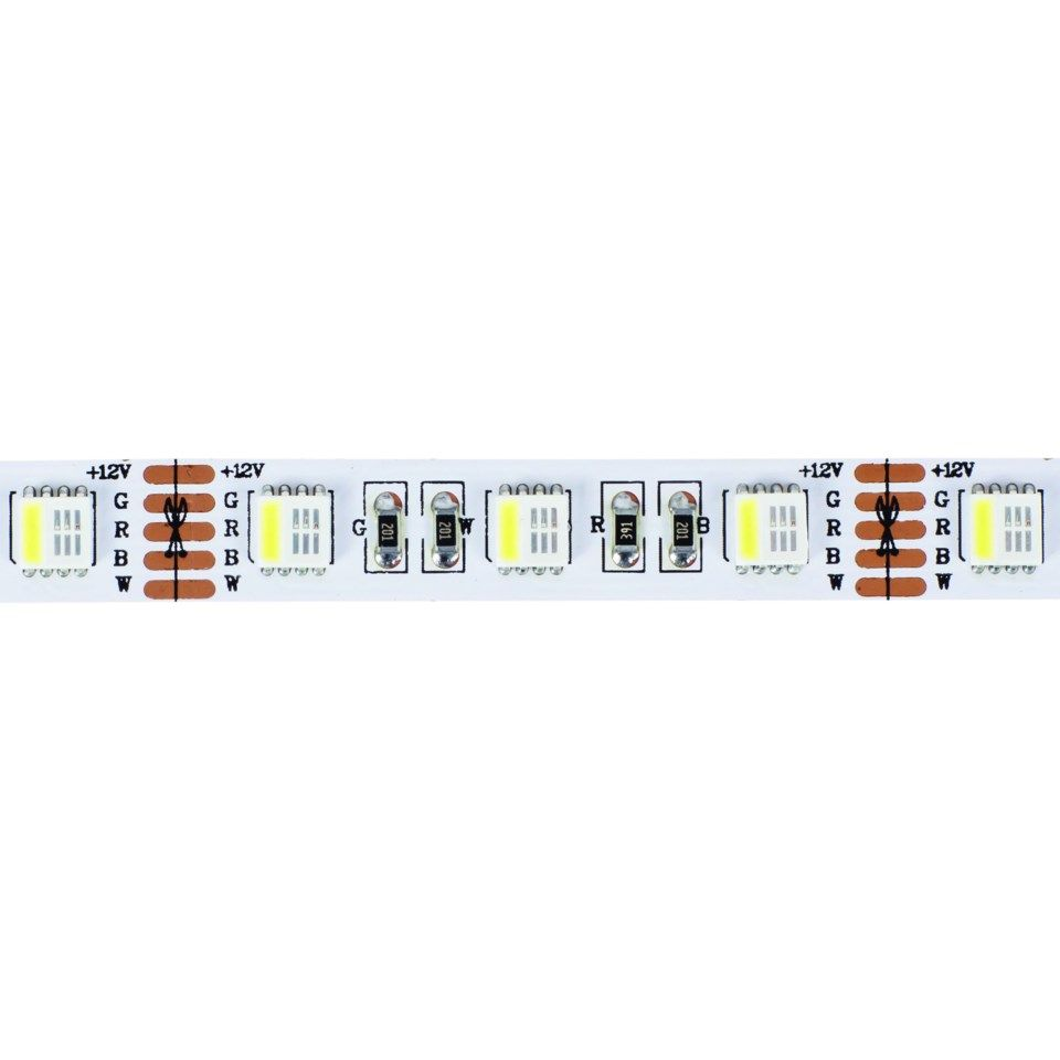 Nextec LED-list IP33 5 m RGBW varmhvit