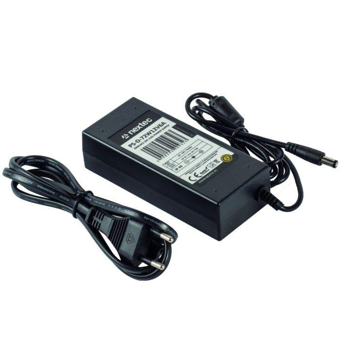 Nextec Nätadapter för LED-list 72 W