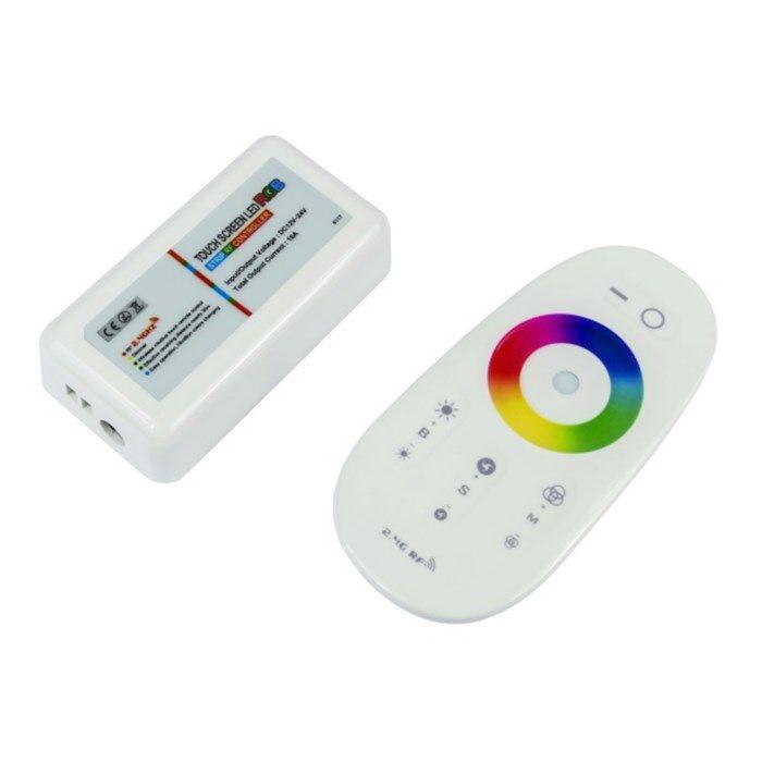 Nextec RGB-LED-kontroller med fjärrkontroll