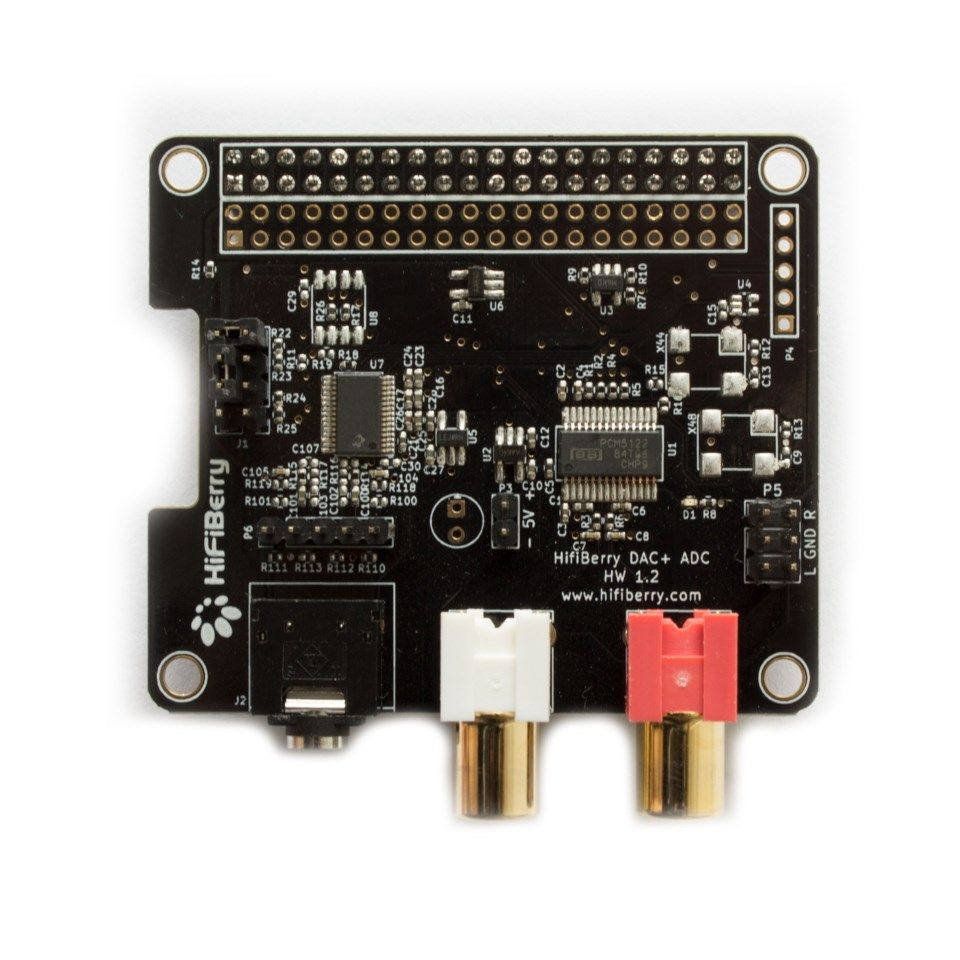HiFiBerry DAC+ADC for Raspberry Pi