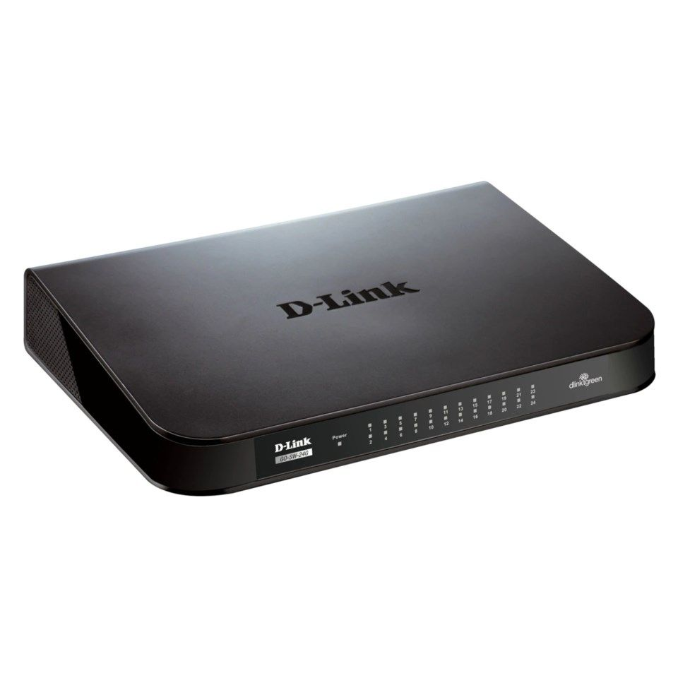 D-link 24-port gigabitswitch