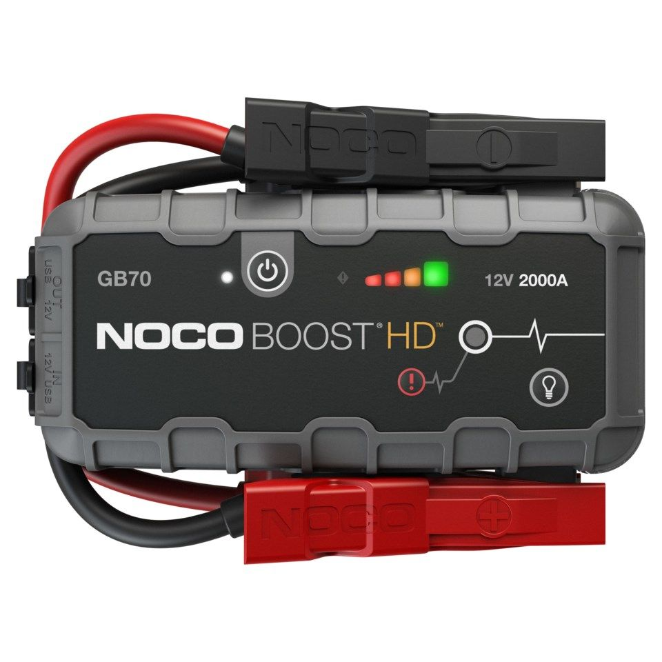 Noco Genius Boost+ GB70 Starthjelp for bil