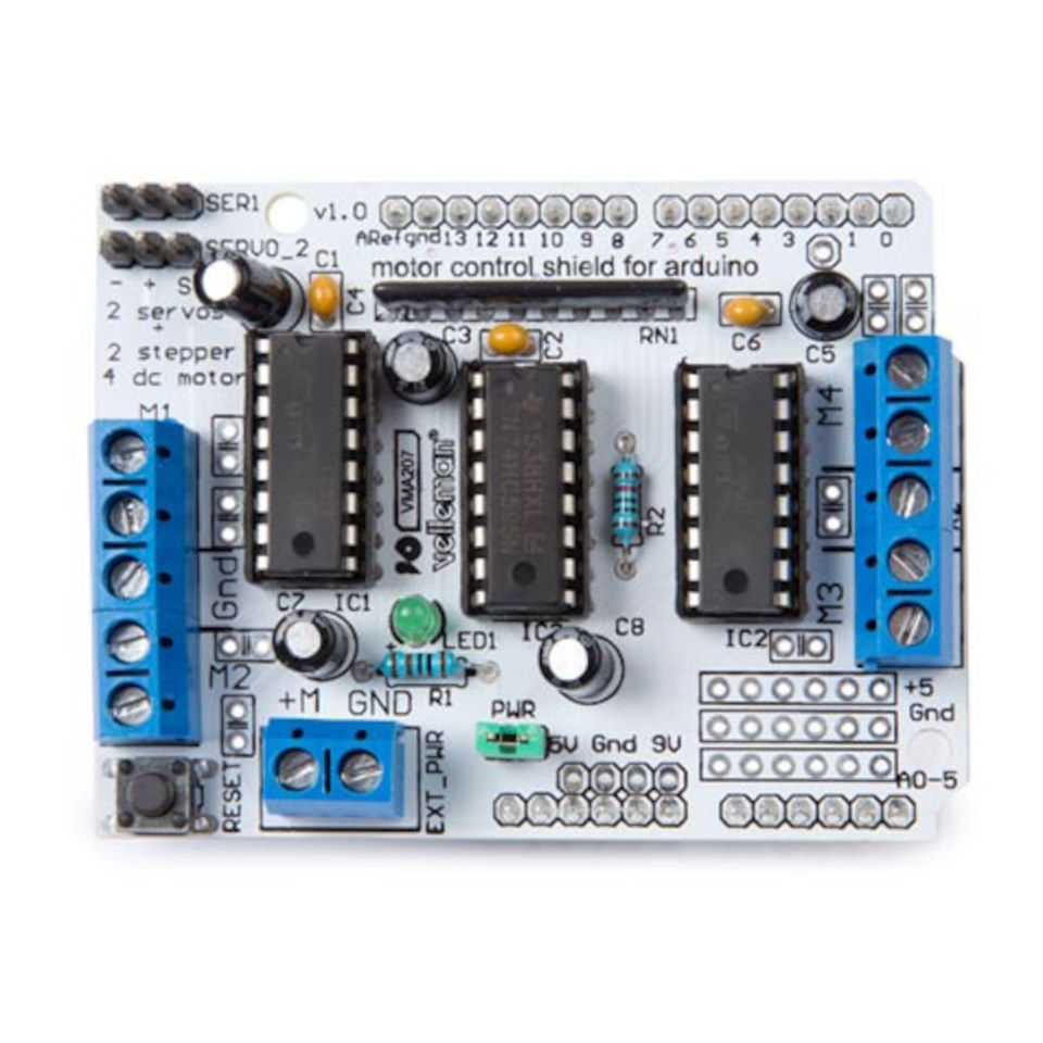 Motor-shield for Arduino