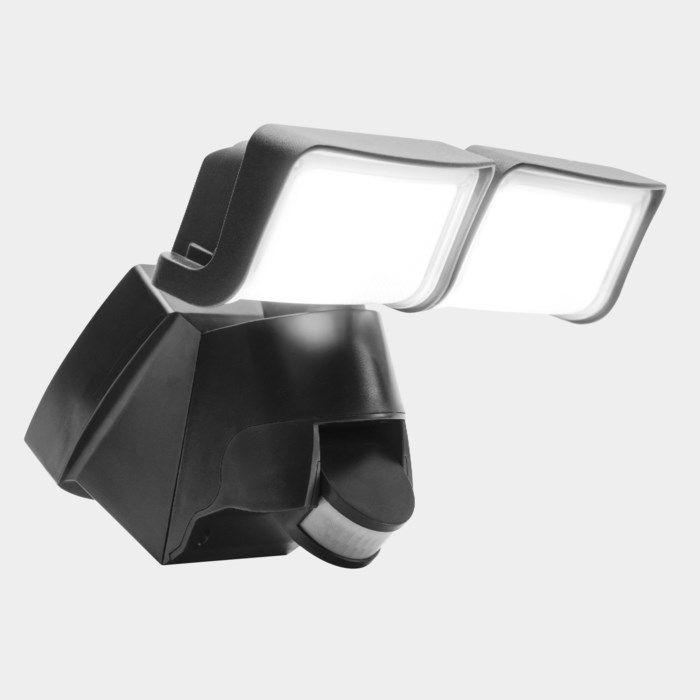 Ledsavers LED-strålkastare med rörelsevakt 2x 15 W