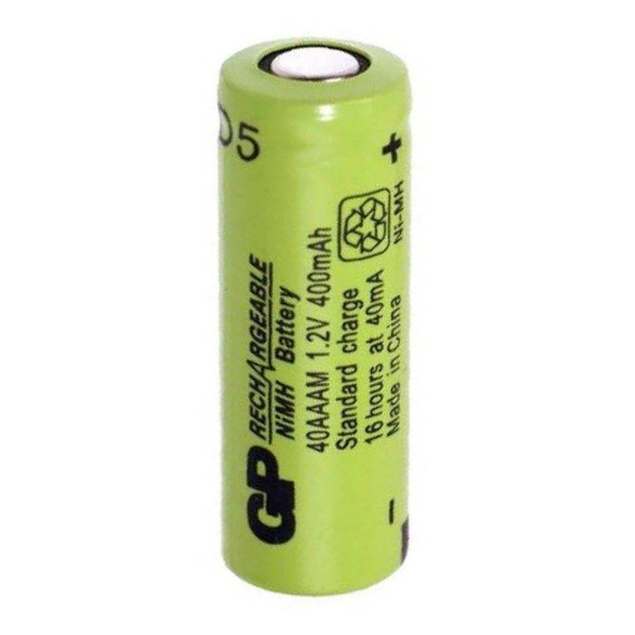 GP NiMH-batteri 2/3 AAA 1,2 V 400 mAh