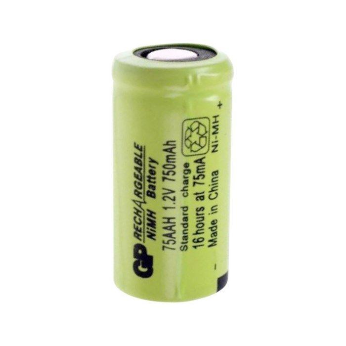 GP NiMH-batteri 2/3 AA 1,2 V 750 mAh