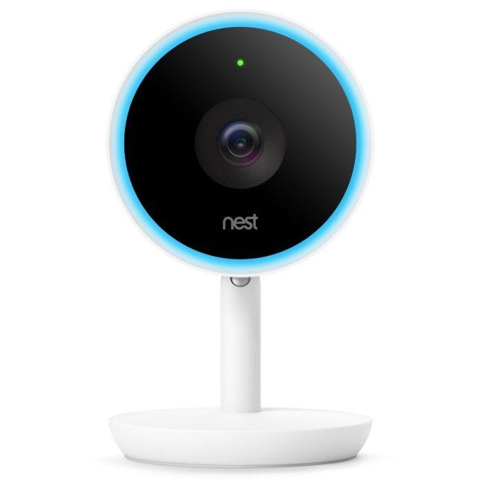 Google Nest Cam Indoor IQ Trådlös övervakningskamera