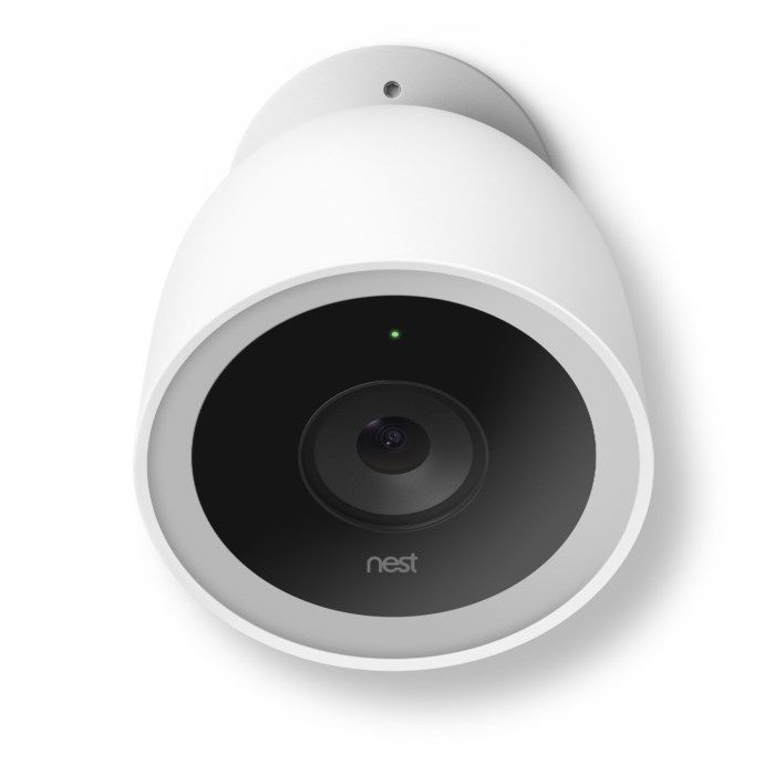 Google Nest Cam Outdoor IQ Trådlös övervakningskamera