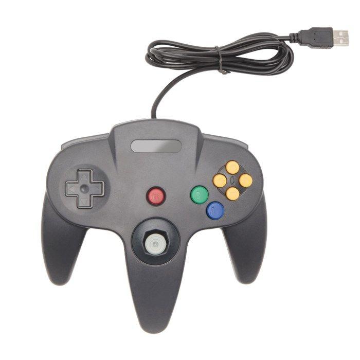 Handkontroll med USB-anslutning N64