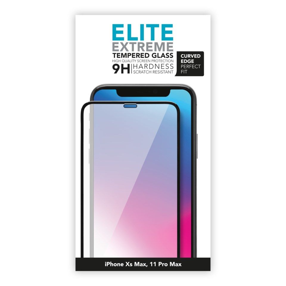 Linocell Elite Extreme Curved for iPhone Xs Max og 11 Pro Max