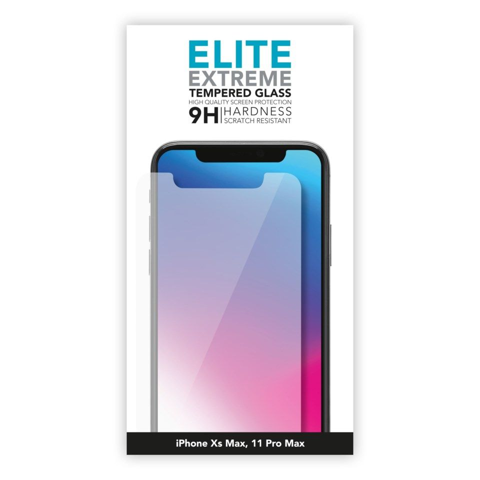 Linocell Elite Extreme Skjermbeskytter for iPhone Xs Max og 11 Pro Max