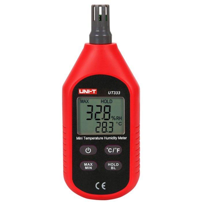 Uni-T UT333 Termometer och luftfuktighetsmätare