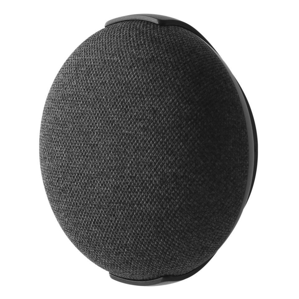 Luxorparts Veggfeste for Google Home Mini Svart
