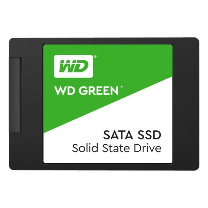 WD Green SSD-disk 480 GB