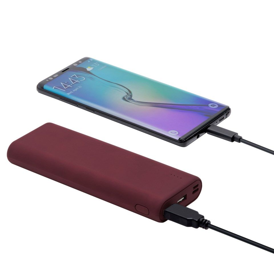 Linocell Powerbank 15600 mAh Rød