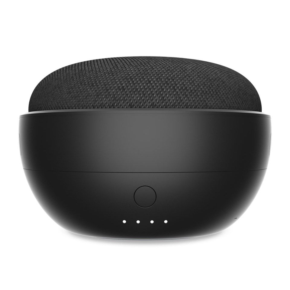 Ninety7 JOT Google Home Mini Batteripakke Svart