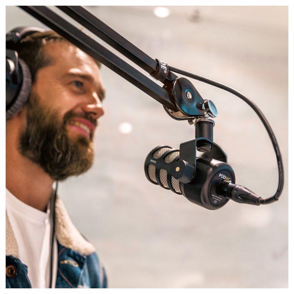 Rode PodMic XLR mikrofon Streaming tilbehor |