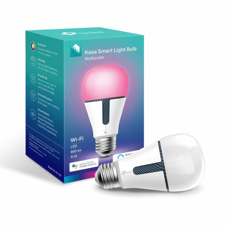 TP-link Kasa Smart Wifi Color LED-lampa RGB
