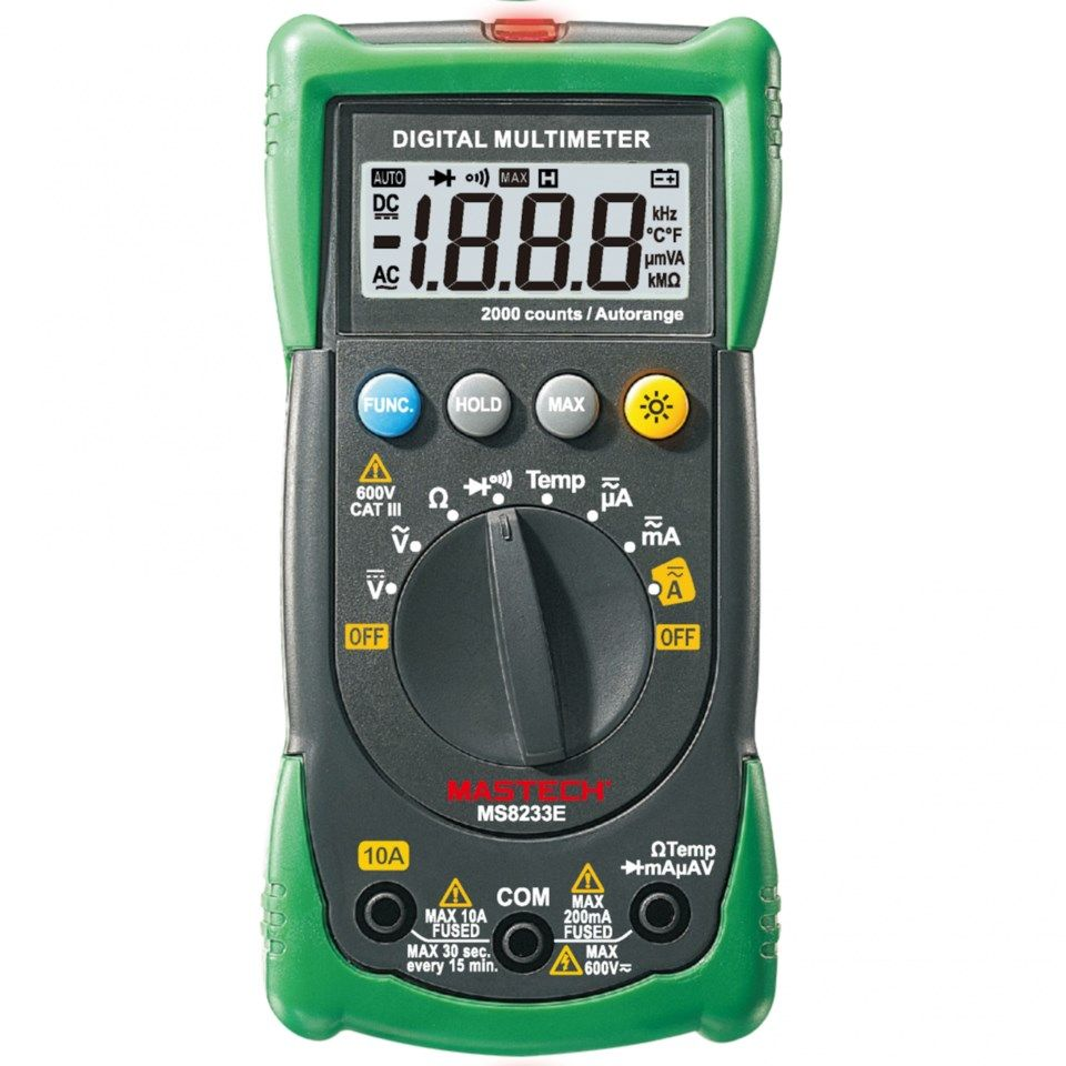 Mastech MS8233 Multimeter