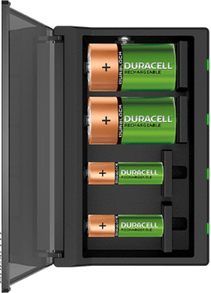 Duracell Multi Charger Batteriladdare med övervakning