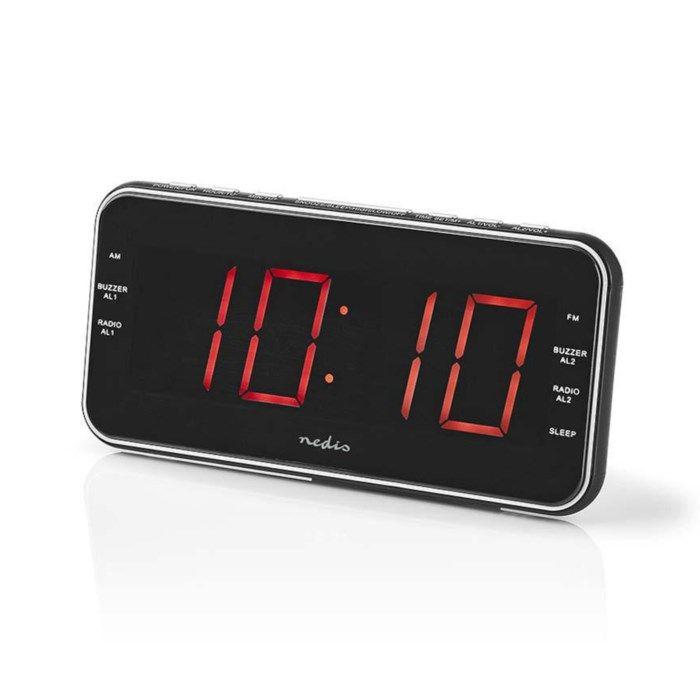 Väckarklocka med FM-radio